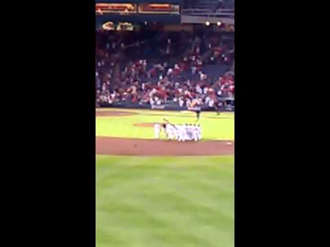 Atlanta Braves walk off hit 5/21/13