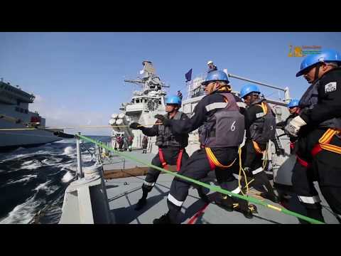 A Glimpse of Milan 2018 Naval Exercise before the actual Milan 2018