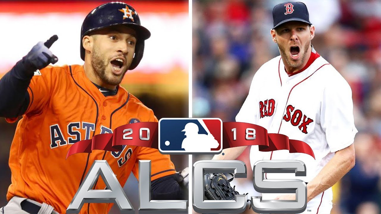 2018 ALCS - Houston Astros vs Boston Red Sox - MLB Postseason