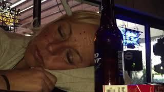 """Bar prank """"makeup 101"""" how to prank and do makeup on woman in a bar."""