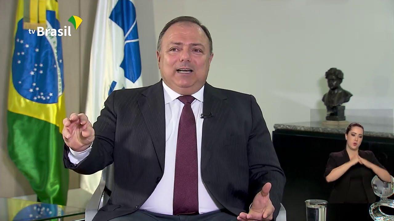 BRASIL EM PAUTA | Eduardo Pazuello, ministro da Saúde - YouTube