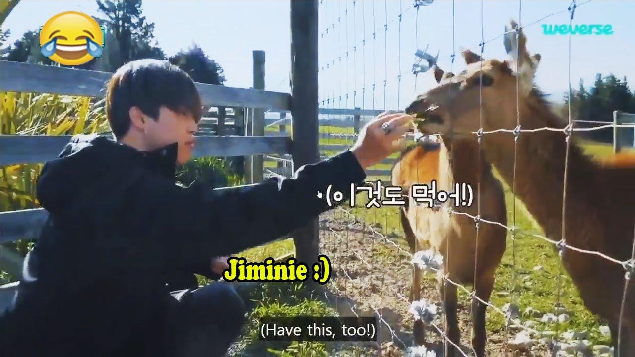 JIMIN (지민 BTS) is still a baby!