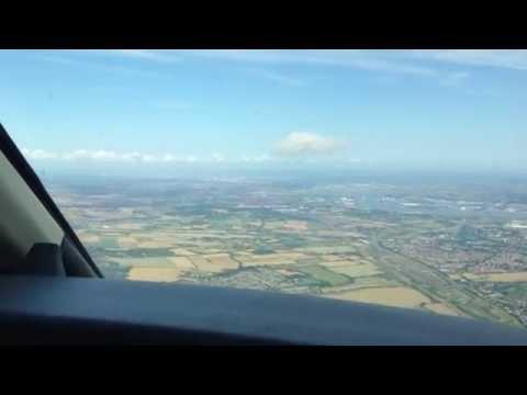 CJ4 Exec Flight - Figari - Corsica (LFKF) to London - Biggin Hill (EGKB)