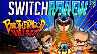 Brotherhood United Nintendo Switch Review-Run & Gun Co-Op Fun (Video Game Video Review)