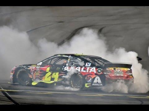 Jeff Gordon Wins Inaugural Night Race at Kansas Speedway in Axalta Chevrolet SS