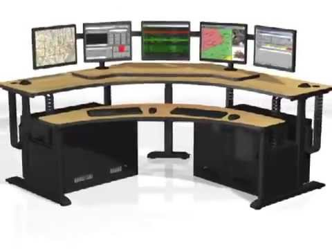 Banana Table Pacs Workstation Radiology Furniture