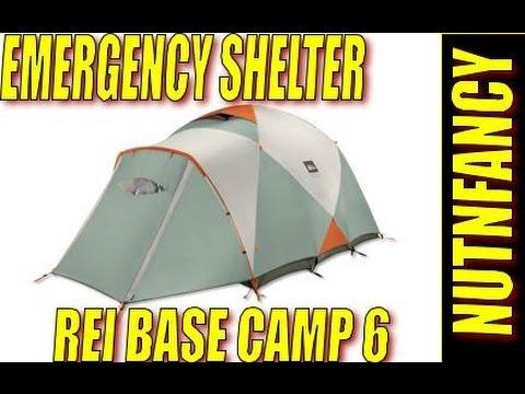 Emergency Shelter REI  Base C& 6  by Nutnfancy  sc 1 st  YouTube & Emergency Shelter: REI