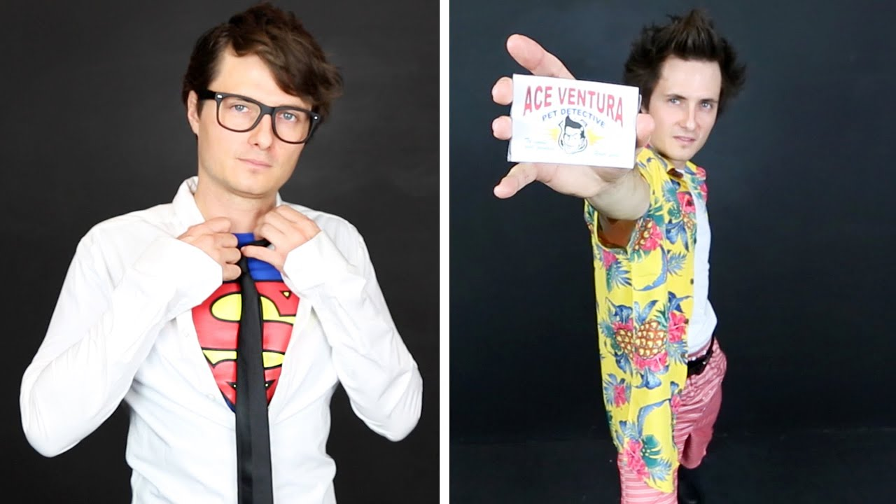 LAST MINUTE + EASY Halloween Costumes FOR GUYS