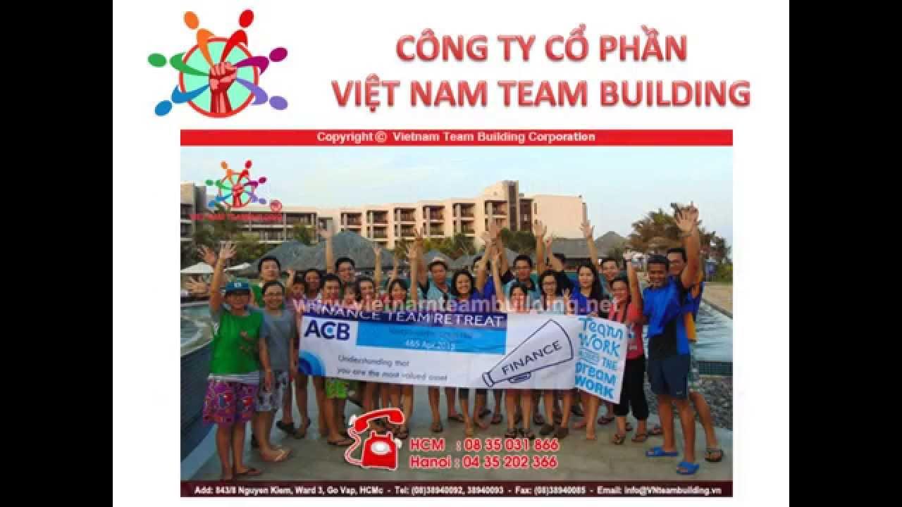 Teambuilding Ngân hàng ACB tại Hồ Tràm | Vietnam Team Building