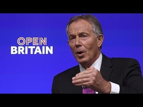 """Tony Blair inicia una campaña contra el """"brexit"""""""