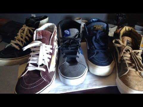 vans sk8 hi collection
