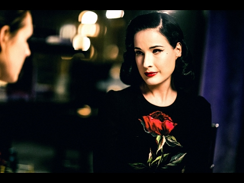 Dita Von Teese   A Drink With