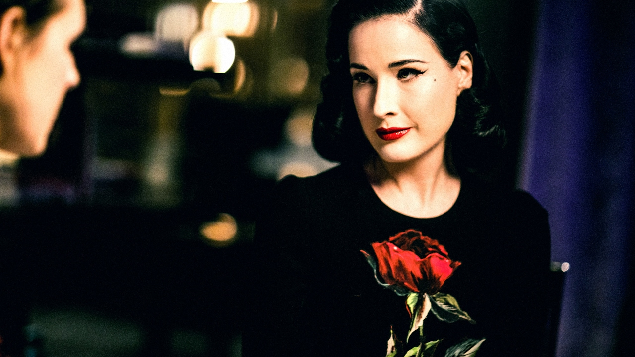 Dita Von Teese Interview A Drink With YouTube