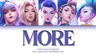 Download {VOSTFR} K/DA (League of Legends) - 'MORE' (G-IDLE, MADISON BEER, JAIRA BURNS, LEXIE LIU)