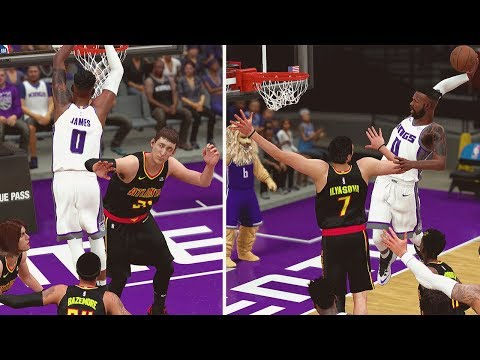 NBA 2K18 MyCareer | How Many Posters Can Vert Get?! Crazy Contact Dunk Animations!