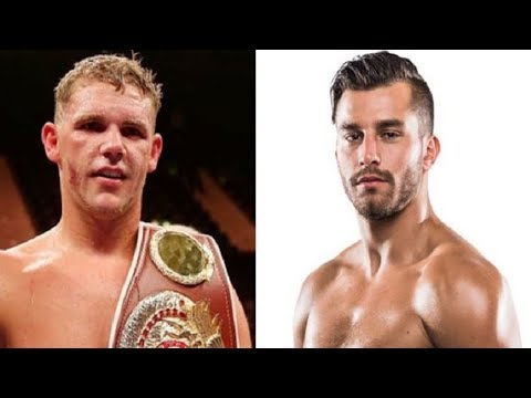 BILLY JOE SAUNDERS VS DAVID LEMIEUX - SIGNED!!! DECEMBER 16TH, CANADA!!!