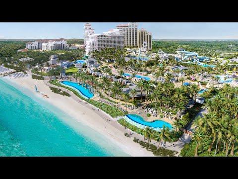 Baha Bay Water Park at Baha Mar Resort in Nassau Bahamas   NEW Luxury Water Park