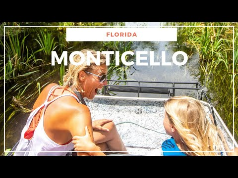 Monticello, Florida:  Charming Historical Town + Outstanding Natural beauty