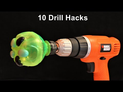 10 Drill Machine Life Hacks you should know