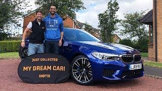 BOTB Winner Jasvant Singh collects BMW M5
