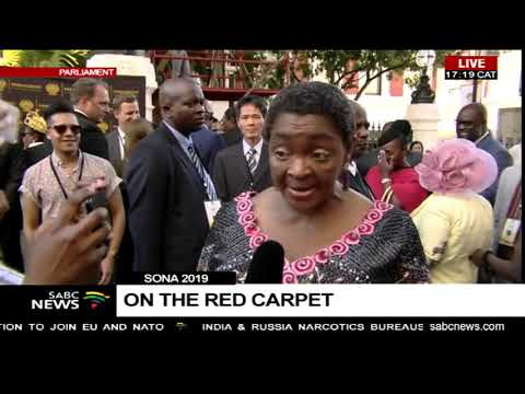 SONA 2019   Bathabile Dlamini on her dress and expectations
