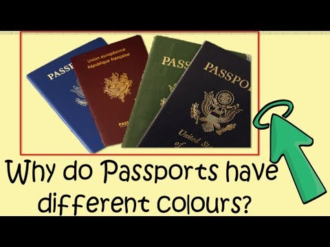 Common Sense and General Knowledge Questions with Answers|| Why do passports have different colours?