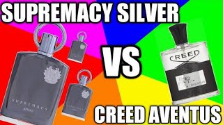 Afnan Supremacy Silver Vs Creed Aventus