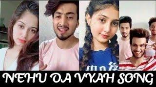 Gambar cover Nehu Da Vyah Song Tiktok Video  Neha Kakkar   Neha Da Viah   Rohanpreet Singh   Nehu Da vyah