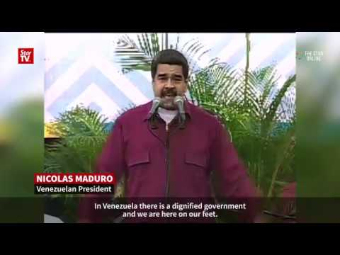 "Maduro to Trump: ""Get your dirty hands off Venezuela!"""