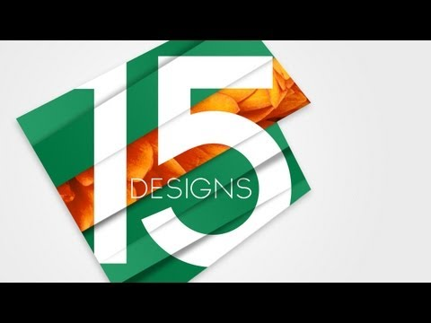 15 Designs | Logo Concept | Photoshop Tutorial