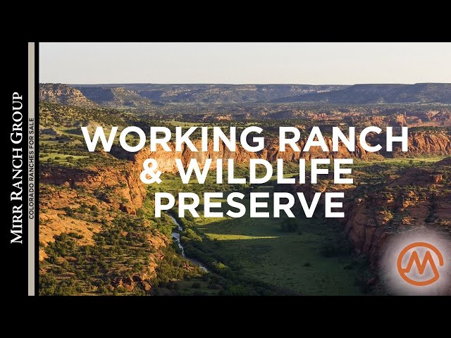 Colorado Ranches for Sale - JE Canyon Ranch (High Conservation Values!) - SOLD!