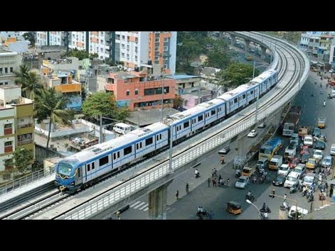 Chennai metro rail at ashok nagar
