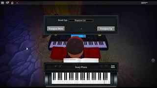 Overfly - Sword Art Online by: Shinsaku Noguchi on a ROBLOX piano.