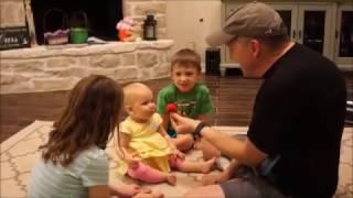 10 month old baby loves Grandpa Xakary the Magician's magic!  www.xakary.com