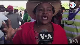 Ayiti: Òganizasyon Fanm Djanm Di li Vle Pote Touch Pal nan Mobilizasyon Kont Koripsyon an