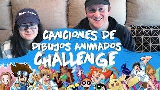 CANCIONES DE DIBUJOS ANIMADOS CHALLENGE | Blue Jeans