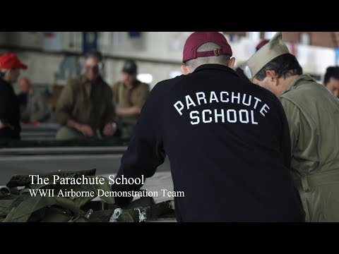 WWII Airborne Demonstration Team - Army Airborne, Military History