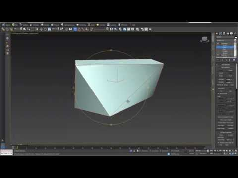 Planarity for polygon surfaces in 3D modells in 3ds max