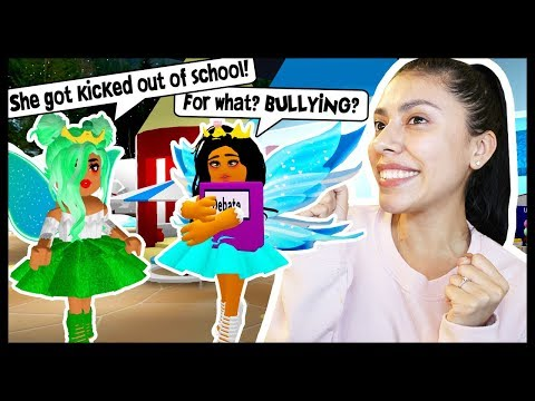 MY BULLY GOT KICKED OUT OF SCHOOL! - Roblox - Royal High School