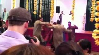 White boys Indian wedding dance for Surjeet and Rimi