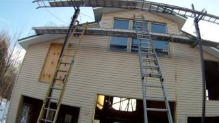 Vinyl Siding Review - 67 - My Diy Garage Build Hd Time Lapse