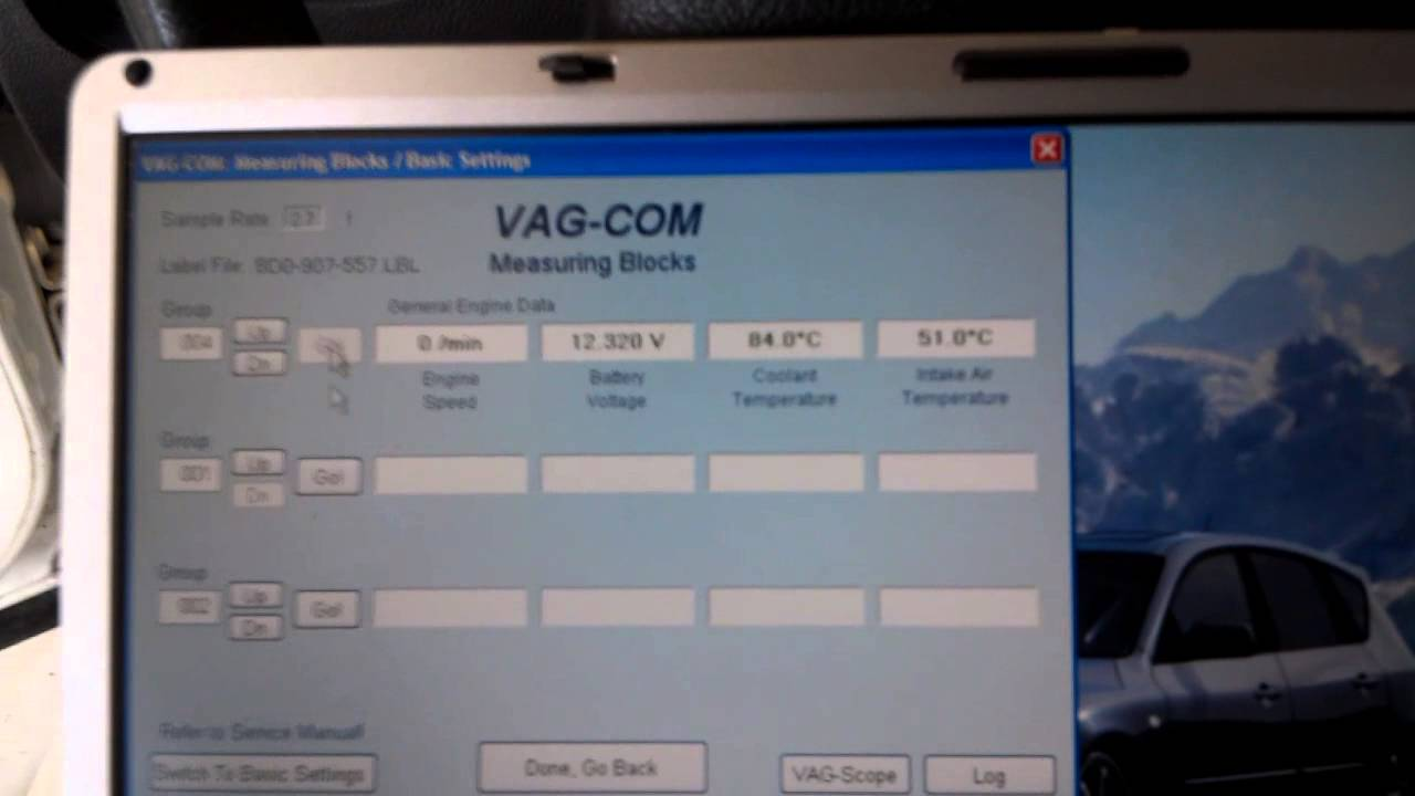 B5 VW Pat how to fix code p1545 using VAG-COM - YouTube