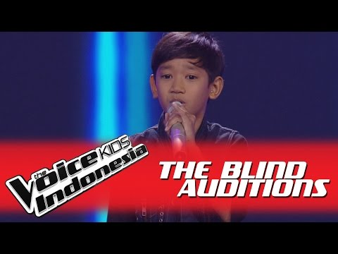"""William """"I Want To Break Free"""" I The Blind Auditions I The Voice Kids Indonesia GlobalTV 2016"""