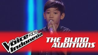"William ""I Want To Break Free"" I The Blind Auditions I The Voice Kids Indonesia GlobalTV 2016"