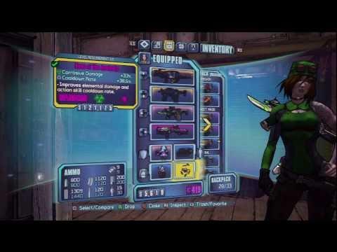 Borderlands 2 ✯ Siren Builds 1/? ~ Level 61 ❝Bullet Witch❞