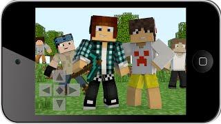 Minecraft PE : SÉRIE NOVA COM INSCRITOS ( Minecraft Pocket Edition)