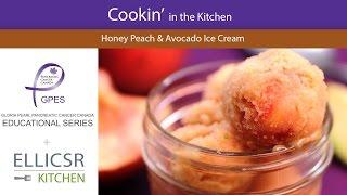 Honey Peach & Avocado Ice Cream | Pancreatic Cancer Canada