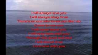 I Will Always Love You with lyrics - Regine Velasques
