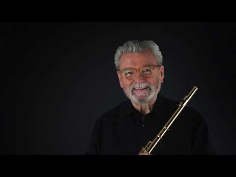 C. P. E. Bach Sonata A minor for solo flute - James Galway