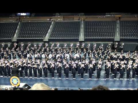 Going the Distance  Michigan Marching Band 2012 @ Crisler Concert